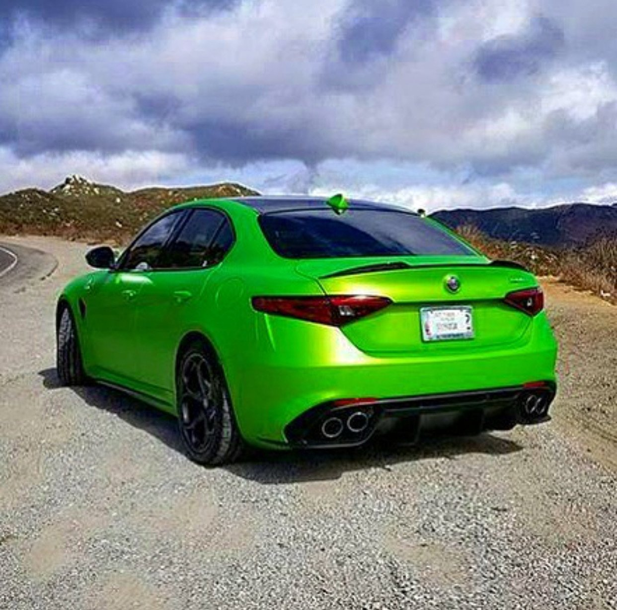 Has Anyone Seen This Qv On Instagram Alfa Romeo Giulia Forum