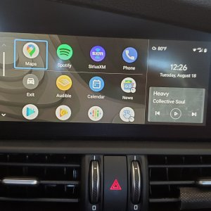 Android Auto in a 2017