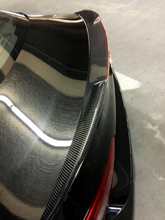 Carbon Fiber Spoiler Installed Pics Alfa Romeo Giulia Forum